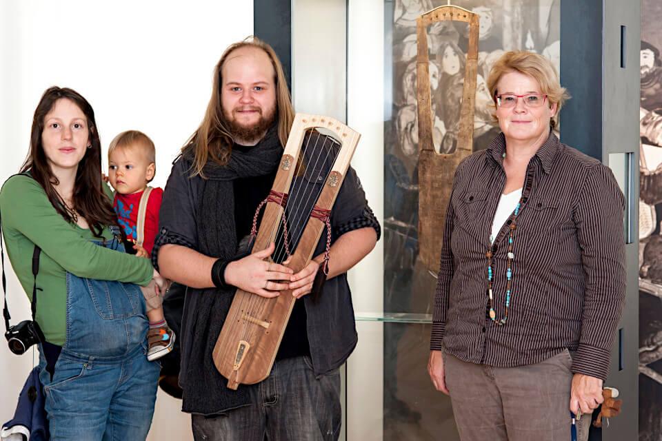 PRIAE rencontre Barbara Theune-Großkopf au musée archéologique de Constance