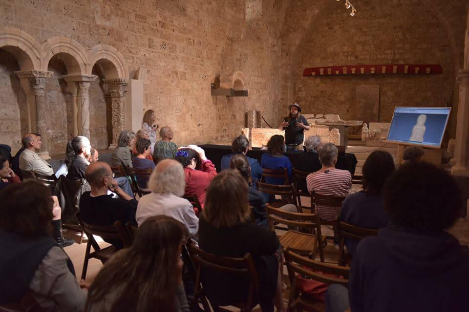 Présentation du PRIAE au CIMM (Centre International de Musiques Médiévales)